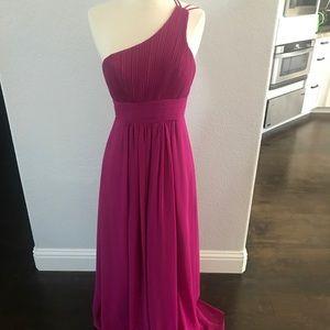 NWOT One Shoulder Occasion Dress